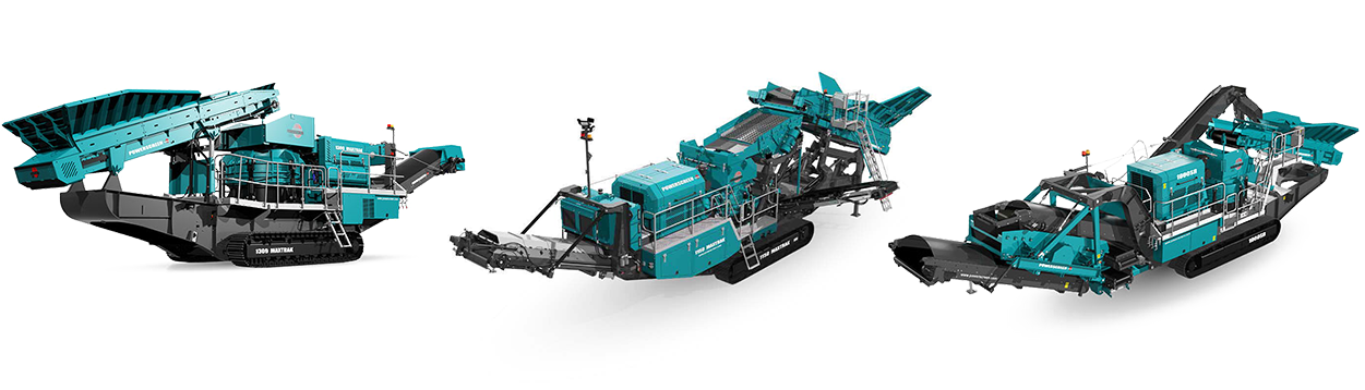 powerscreen crushers hire contracting