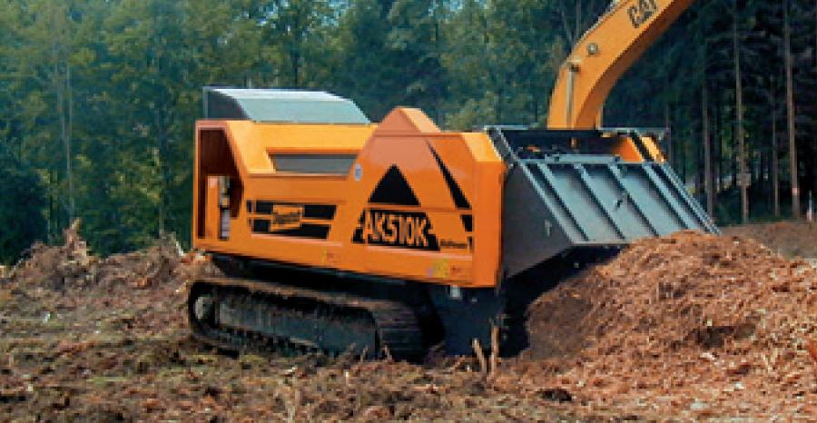 forestry wasted shredding