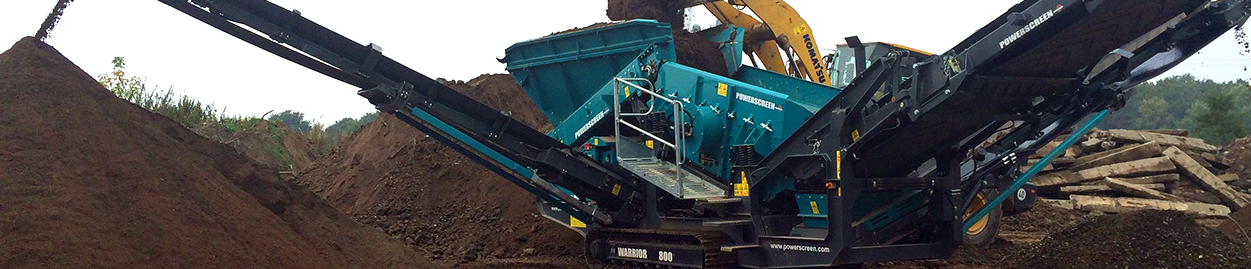 powerscreen soil sizing