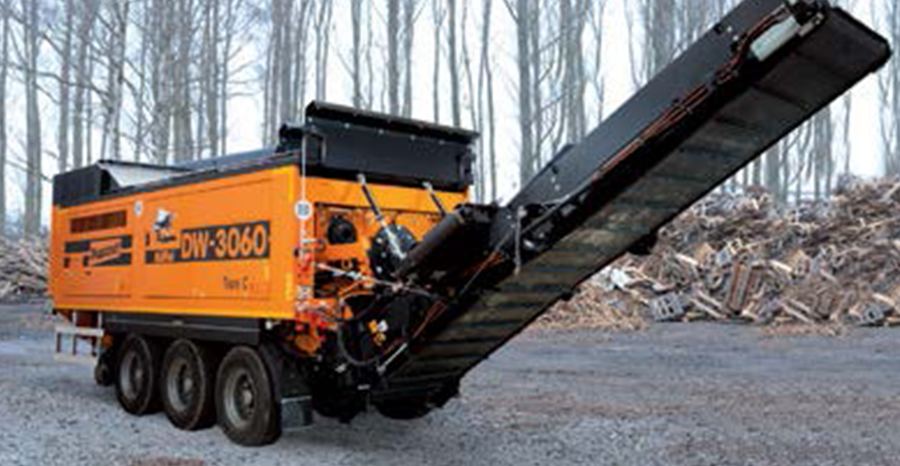 doppstadt dw 3060 material shredding